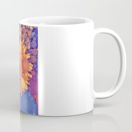 Vintage Flowers in the rain Coffee Mug