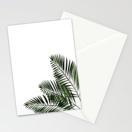 Tropical Exotic Palm Leaves I Stationery Cards