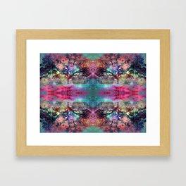 Dream under the trees Framed Art Print