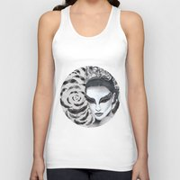black swan Tank Tops featuring Black Swan by Matt McVeigh