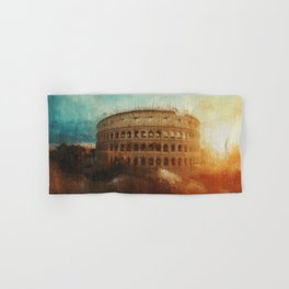 Rome, Colosseum Hand & Bath Towel