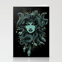 medusa Stationery Cards featuring Medusa by miles to go