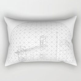 Montreal Biosphere Rectangular Pillow