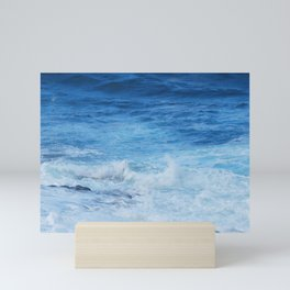 Wild Atlantic ocean Mini Art Print
