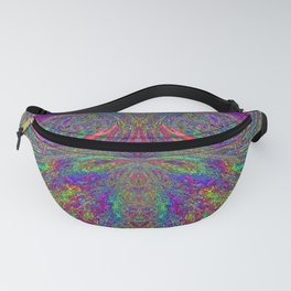 Anyone else see a trippy owl? Fanny Pack