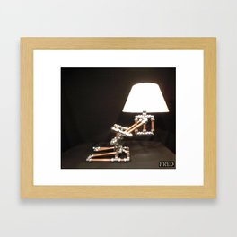 Articulated Desk Lamps - Copper and Chrome Collection - FredPereiraStudios_Page_20 Framed Art Print