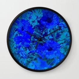 Flowers 115 Wall Clock
