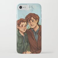 fault in our stars iPhone & iPod Cases featuring The Fault in Our Stars  by Beverly Johnson