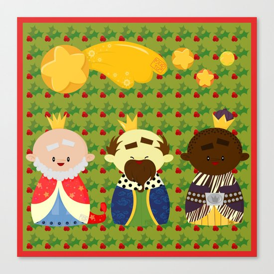 Three Kings (Reyes Magos) Canvas Print
