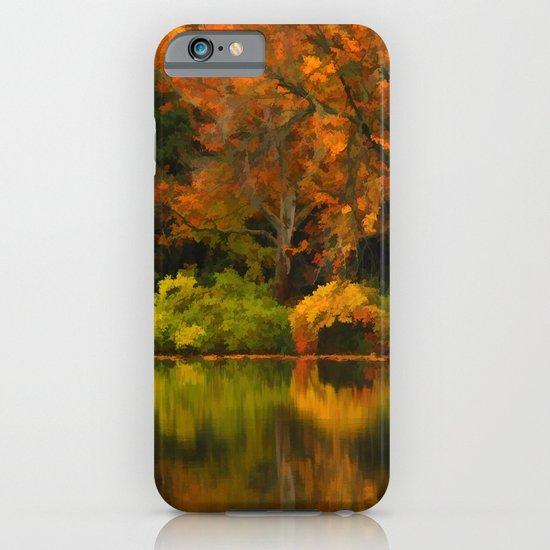 Across the Lake iPhone & iPod Case