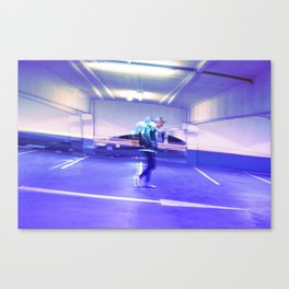 Fade-away Canvas Print