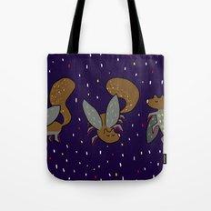 Evil mutant squirrel Tote Bag