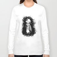 cara delevingne Long Sleeve T-shirts featuring Cara Delevingne by BeckiBoos