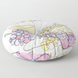 Craving Grapeness Floor Pillow