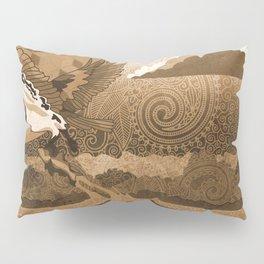 Osprey Monochrome Pillow Sham