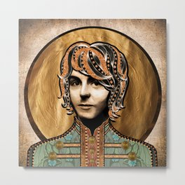 Boho Beatle (Paul) Metal Print