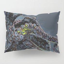 """""""Release the Kraken"""" - Giant Octopus Digital Illustration Pillow Sham"""