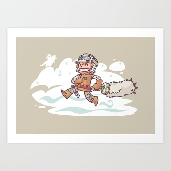 Good Luck Charm! Art Print