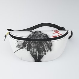 One Armed Wolf Fanny Pack