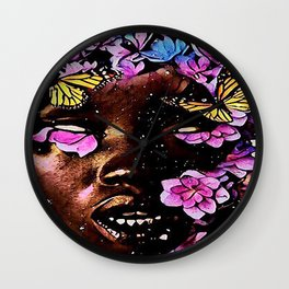 CHILD OF FLOWER Wall Clock