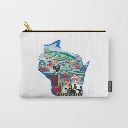 Wisconsin Country Sampler Carry-All Pouch