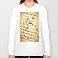 beethoven Long Sleeve T-shirts featuring Beethoven Music by Richard Harper