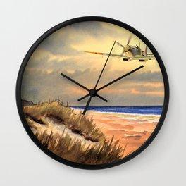 Supermarine Spitfire MK IX Aircraft Wall Clock
