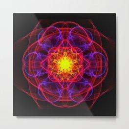 Silkweave / Neon Sigil 1 Metal Print