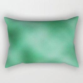 green foil Rectangular Pillow