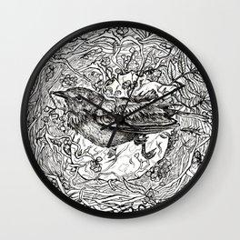 Nest for Heart Wall Clock