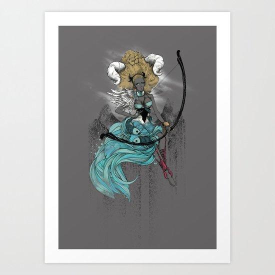 AFROZODIAC Art Print