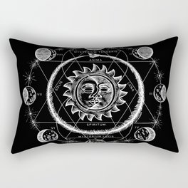 Boho Moon Rectangular Pillow