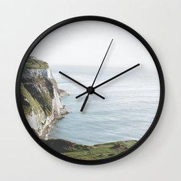 White Cliffs of Dover (full) Wall Clock