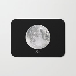Moon #2 Bath Mat