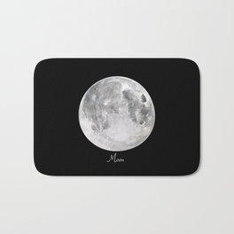 Moon #2 Bath Mat