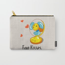 Fan Kisses Carry-All Pouch