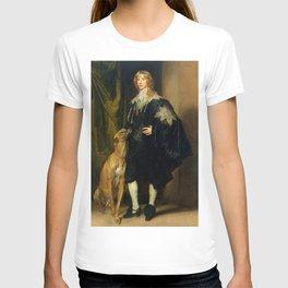 "Sir Anthony van Dyck ""James Stewart, 1st Duke of Richmond, 4th Duke of Lennox"" T-shirt"
