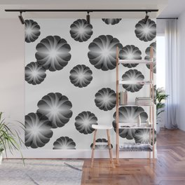 Geom Fleurs Wall Mural