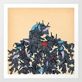 - modern dust - Art Print