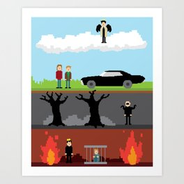 Supernatural - From Heaven and Hell Art Print