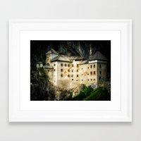 castle Framed Art Prints featuring Castle by DistinctyDesign