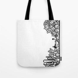 Chai and Cacti III Tote Bag
