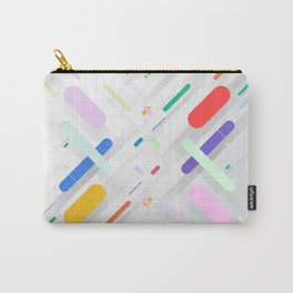 Symmetrical Colorful Lines VI (creativity) Carry-All Pouch