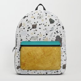 Terrazzo&Gold Backpack