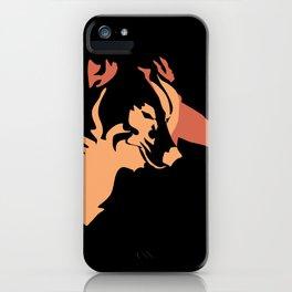 Left Eye Wolf Blue iPhone Case
