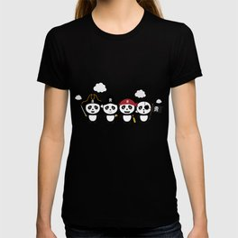 Panda Pirates Crew T-Shirt for all Ages Dt4v1 T-shirt