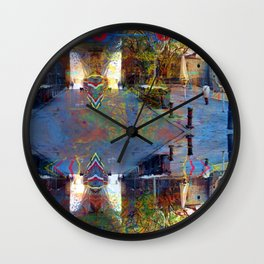 Akin to recalling, instead; understood mimicry. 16 Wall Clock