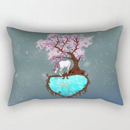 Last Unicorn Rectangular Pillow