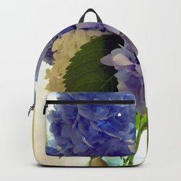Hydrangea Bouquet Backpack