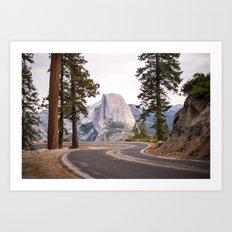 Road to Half Dome Art Print